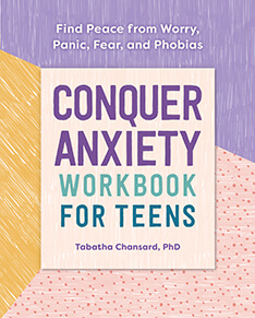 Conquer Anxiety Workbook for Teens cover