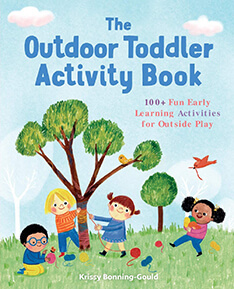 The Outdoor Toddler Activity Book cover