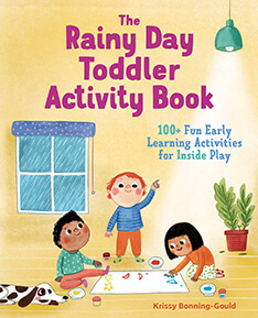 The Rainy Day Toddler Activity Book cover